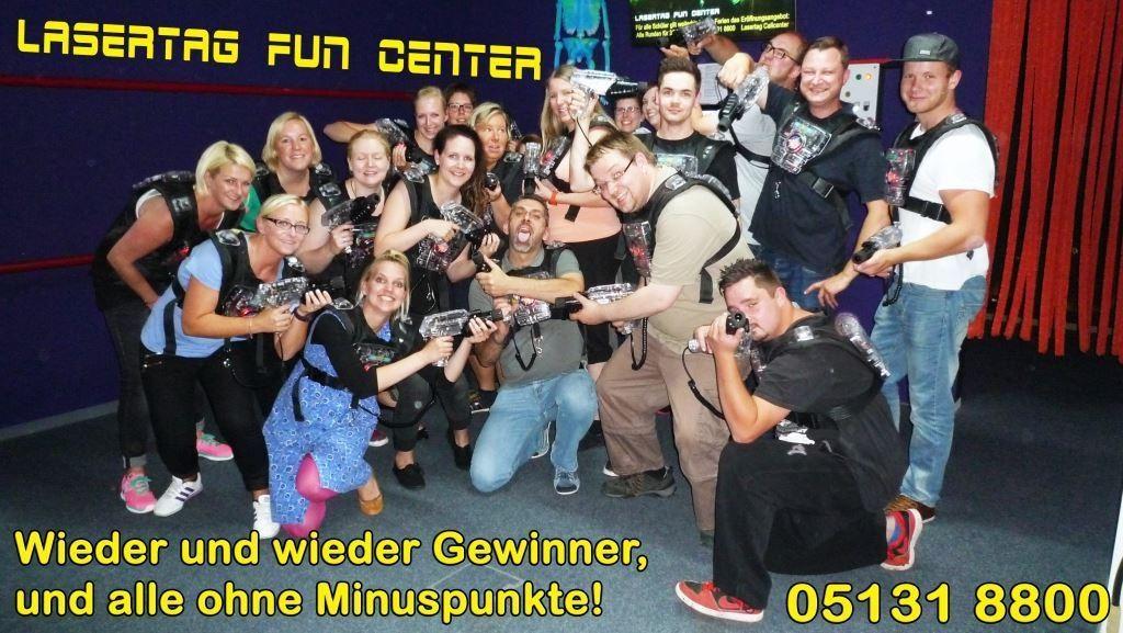 Lasertag Hannover Gewinner
