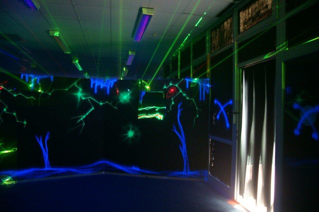 Lasertag Baum der Seelen