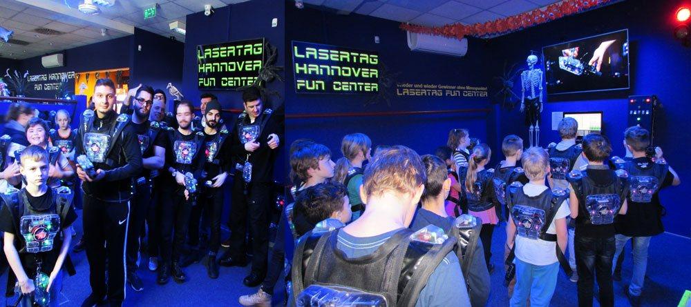 Lasertag spielen