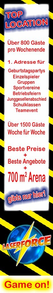 Lasertag Hannover Banner
