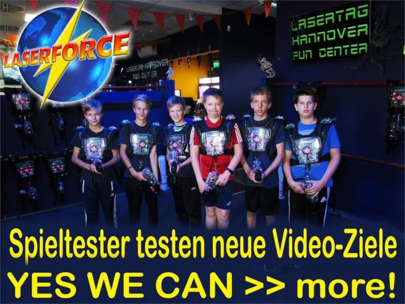 Lasertag Hannover Spieler