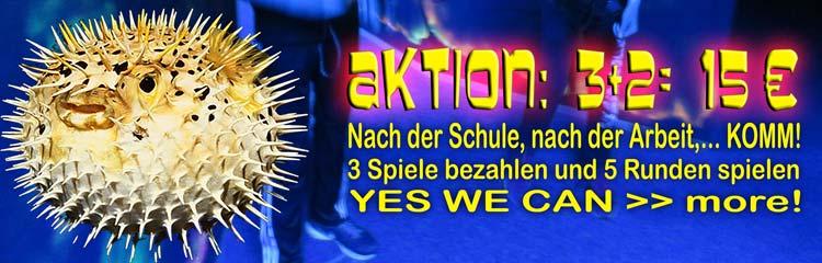 Lasertag Hannover Aktion