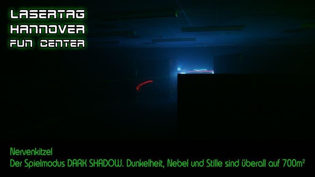 Lasertag Hannover Dark Shadow macht Spaß für alle.