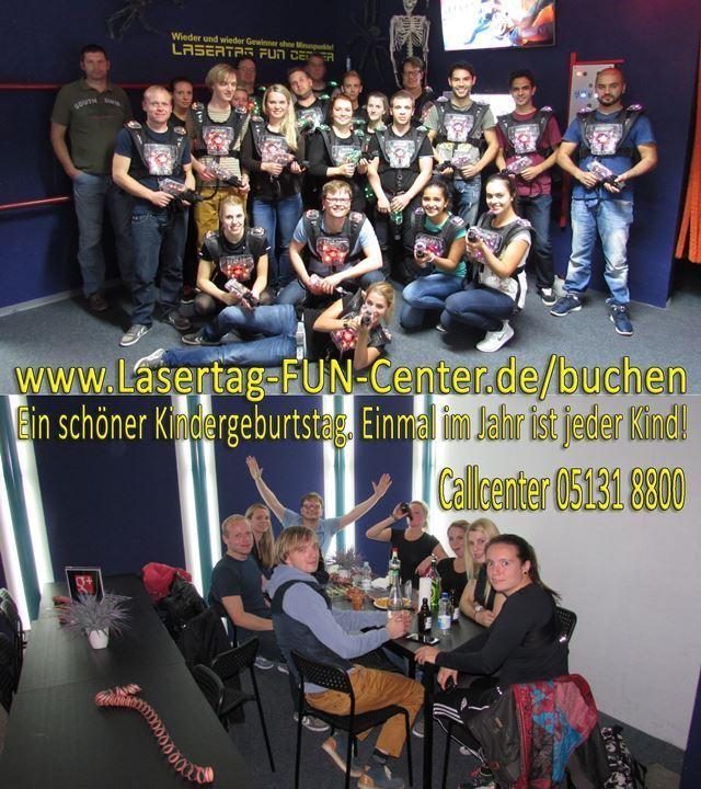 Kindergeburtstag Lasertag Hannover