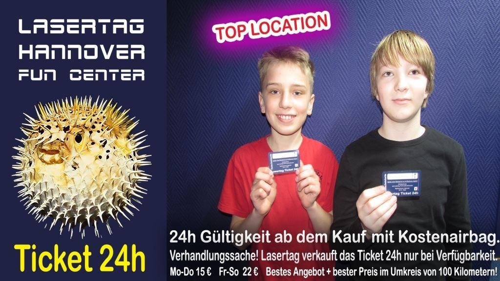 Lasertag Hannover Freizeit Tageskarten