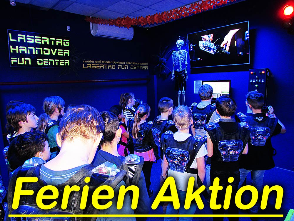 Hannover Lasertag Sommerferien Action