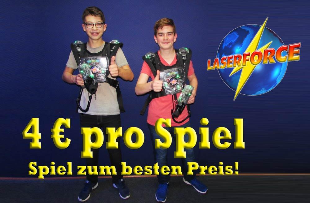 Lasertag Schulferien Aktion