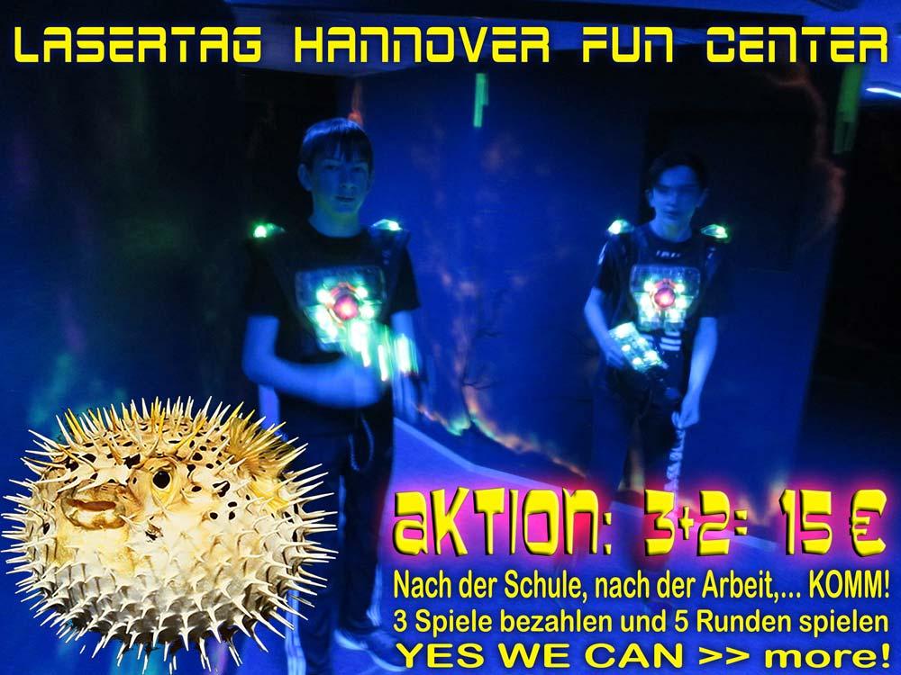 Hannover Lasertag Aktion