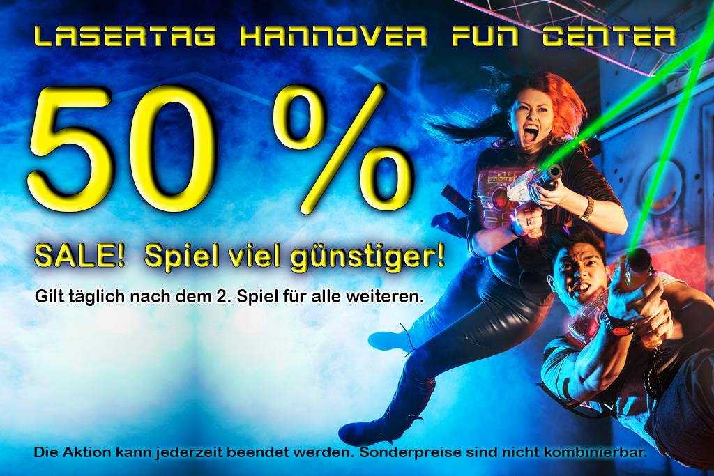lasertag in hannover hier im 700m fun center spielen. Black Bedroom Furniture Sets. Home Design Ideas