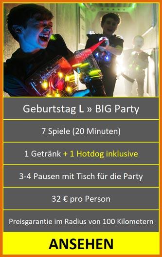 Geburtstag Lasertag Hannover Kindergeburtstag L