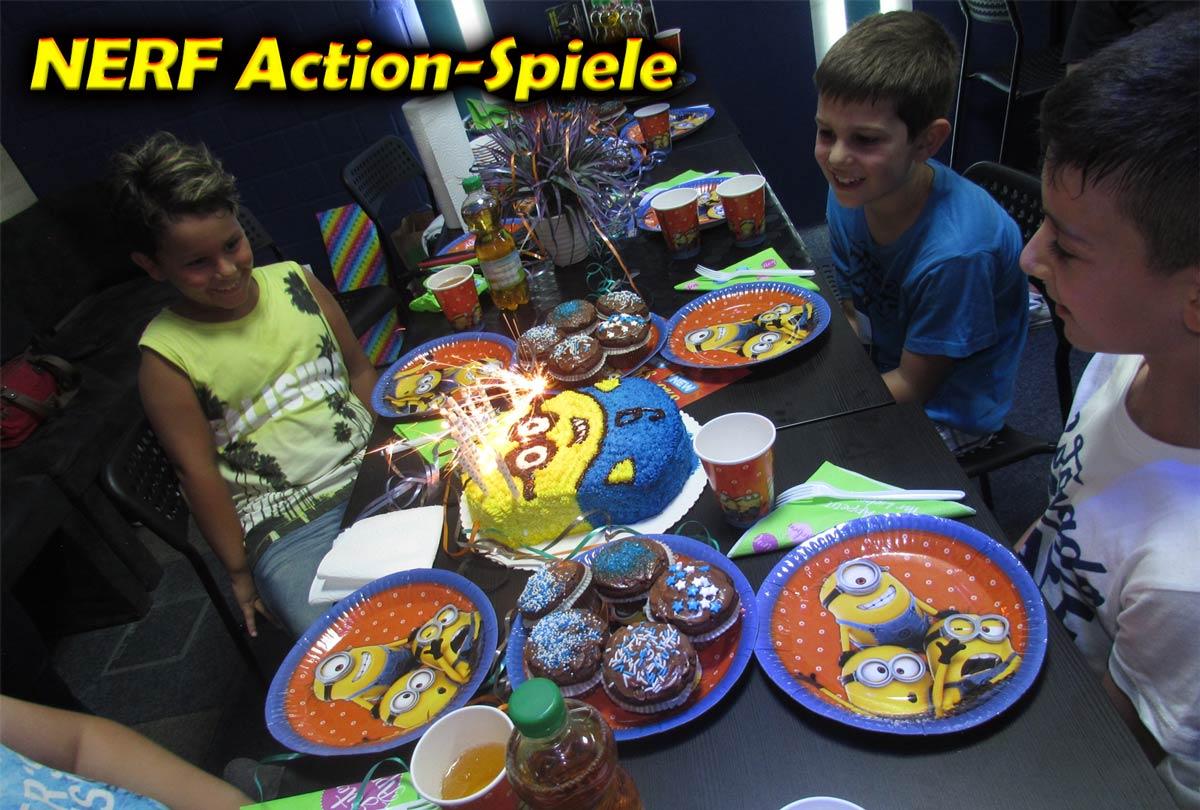 Hannover NERF Kindergeburtstag
