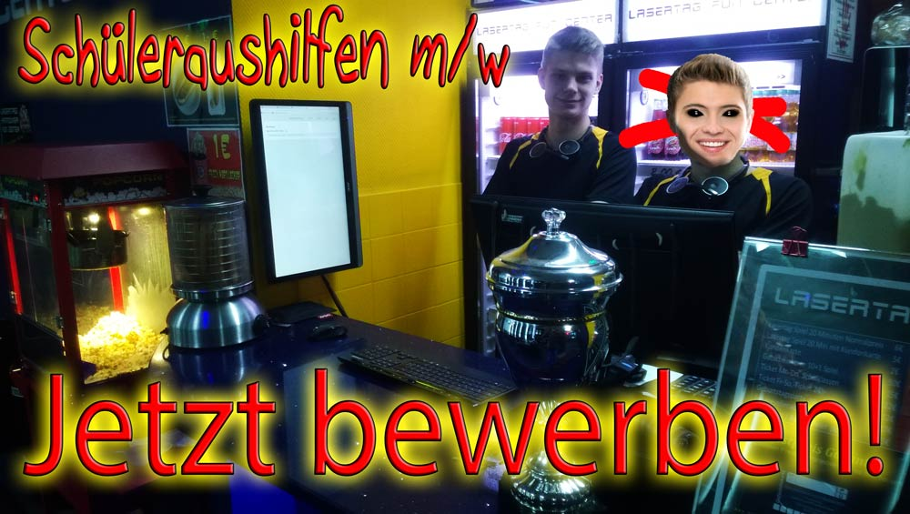 Job Hannover Lasertag