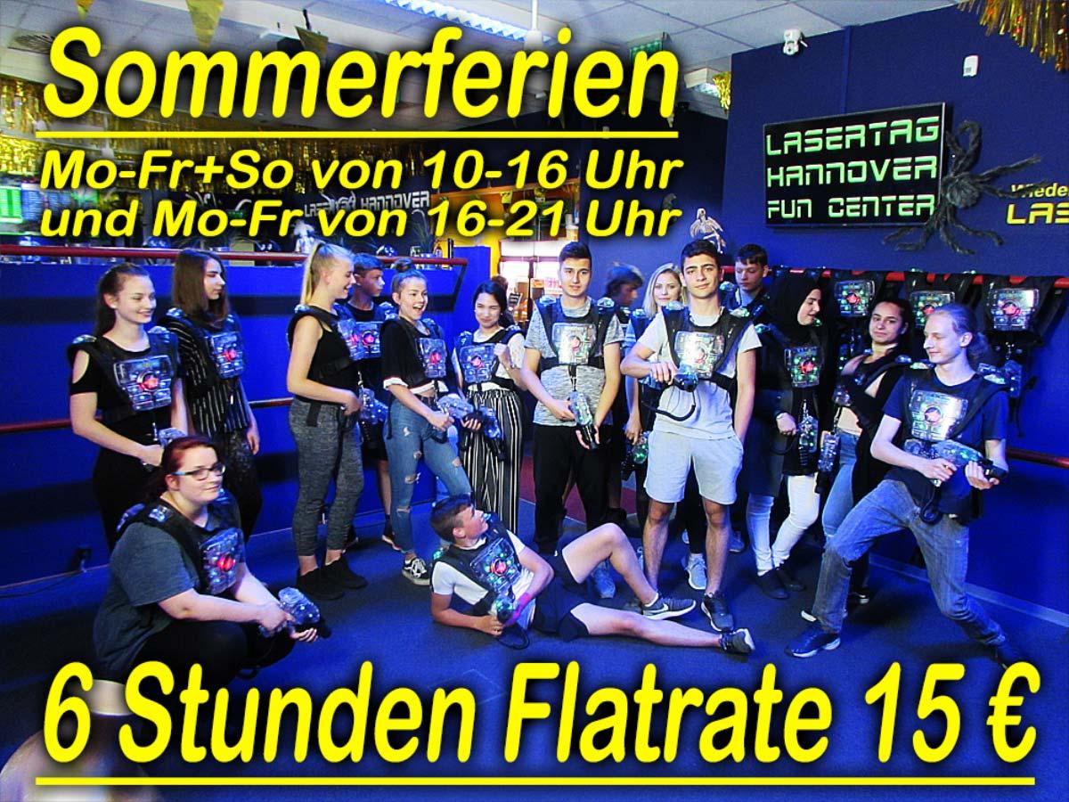 Hannover Lasertag Sommerferien