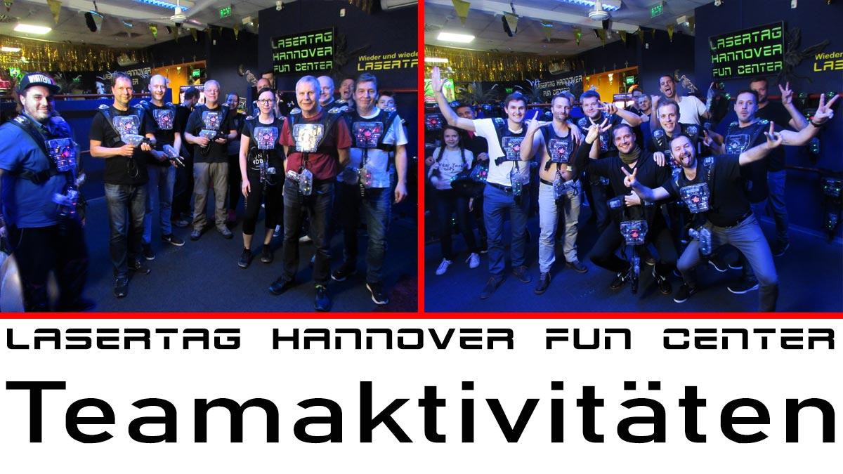 Ideen Betriebsfeier Hannoverer Teamaktivitäten Betriebsausflug Teamevent Lasertag