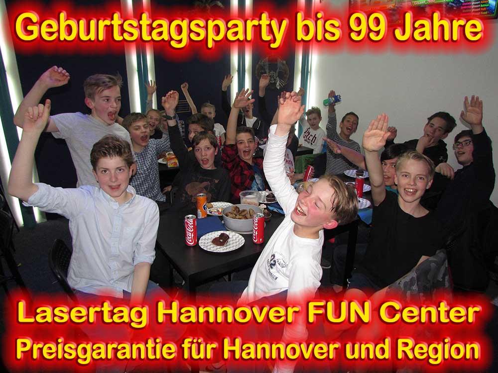 Kindergeburtstag Lasertag Hannover L